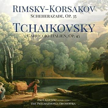 Rimsky-Korsakov: Scheherazade, Op. 35 & Tchaikovsky: Capriccio Italien, Op. 45