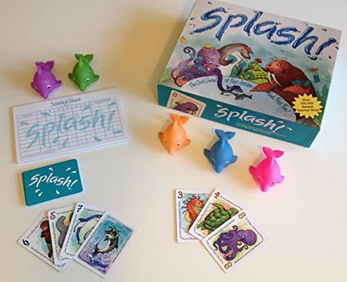 26. Splash Game - Family Fun (Colorful Dolphins included)