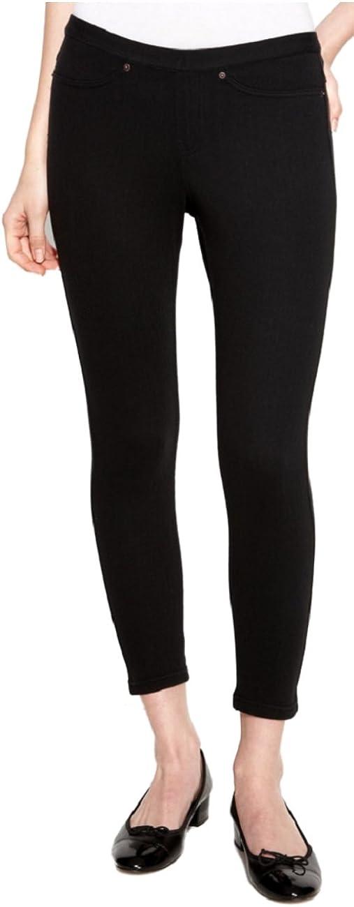 HUE Original Jeans Skimmer Leggings Black X Small