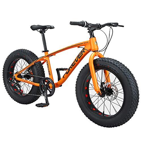 Nengge Kinderfiets, mountainbike, 20 inch, 9 versnellingen, bandenspanning, aluminium frame, draagbare mountainbike