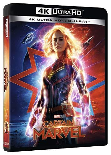 Captain Marvel uhd 4K (2 Blu Ray)