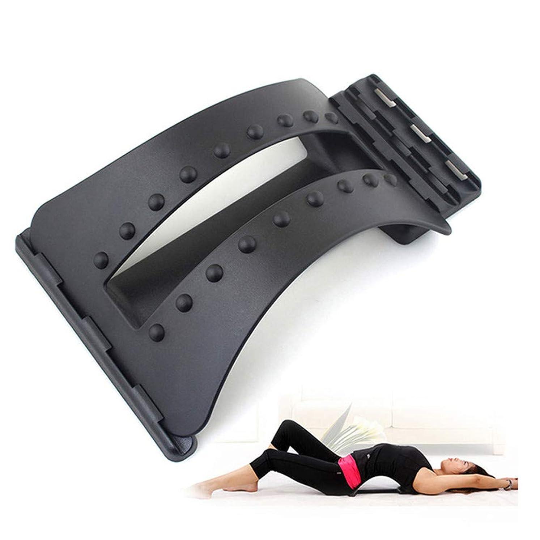 破壊無しソフィー背中マッサージストレッチャーフィットネスマッサージ機器ストレッチリラックスストレッチャー腰椎サポート脊椎疼痛救済カイロプラクティックドロップシップ