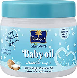 Parachute Skin Pure Baby Oil Extra Virgin Coconut Oil, 250 ml