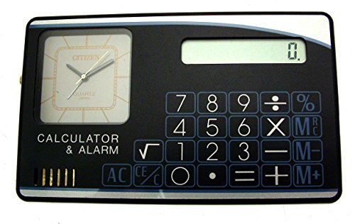 Citizen kombiniert Taschenrechner und Wecker