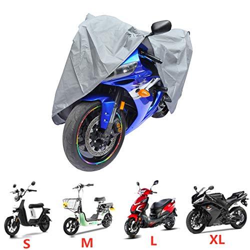 Cubierta De Lluvia De La Motocicleta Outdoor Anti-UV Sol para Moto Polvo A Prueba De Polvo PVEA Scooter Protector Cubierta De Una Sola Capa Delgada para Todas Las Estaciones (Size : 230X130CM)