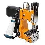 HUKOER Máquina de Coser Portátil Máquina Selladora Eléctrica Costura de tejido de sellado para bolsas de lona,...