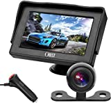 OBAST Backup Camera and Monitor Kit - Rear View Reversing Camera with Waterproof