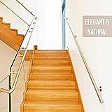 Queta Antirutschstreifen Treppe Set Rutschfest Stufenmatten Transparent Rutsch Streifen Treppenstufen Matten Rutschschutz 15 Rollen Transparente Antirutschstreifen mit Installationsrolle (15 x 80cm) - 8