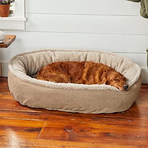 Orvis Memory Foam Wraparound Dog Bed with Fleece