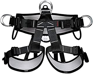 HaoFst Pro Tree Carving Car Protection Fall Climbing Equip Gear Rappelling Harness