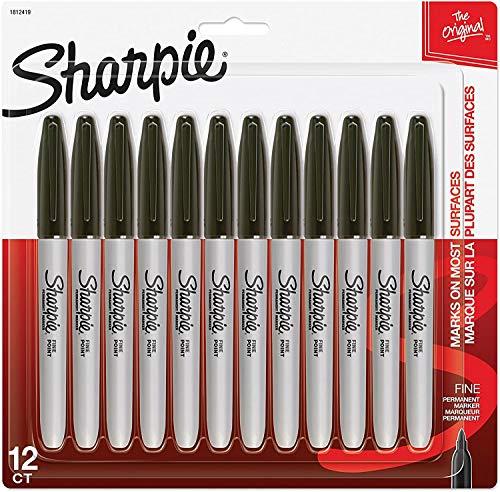 Top sharpie brush pen black for 2020