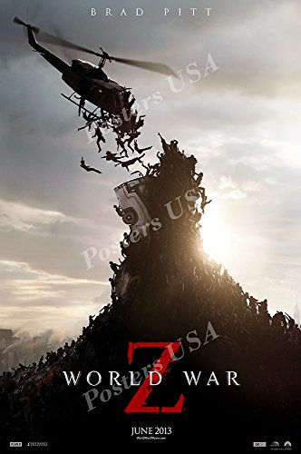 Posters USA - World War Z Movie Poster GLOSSY FINISH - MOV727 (24' x 36' (61cm x 91.5cm))