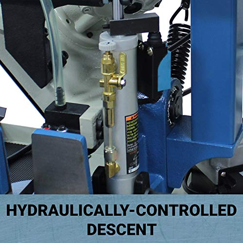Baileigh BS-210M Hydraulic Horizontal Band Saw, 110V, 1hp Motor, 3/4
