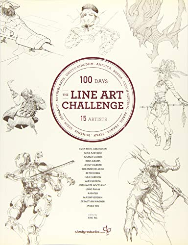 The Line Art Challenge: 100 Sketches for 100 Days