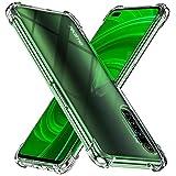 Peakally Realme X50 Pro 5G Hülle, Soft Silikon Dünn Transparent Hüllen [Kratzfest] [Anti Slip] Durchsichtige TPU Schutzhülle Hülle Weiche Handyhülle für Realme X50 Pro 5G-Klar