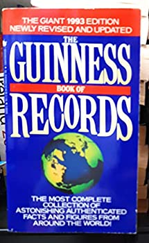 Mass Market Paperback Guinness Book of Records 1993, The Book