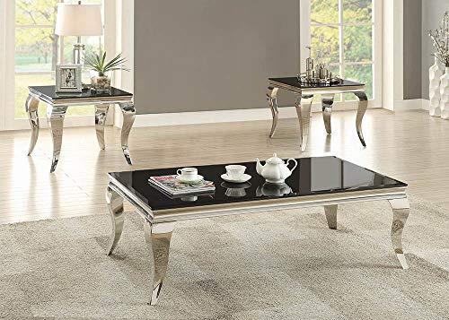 Coaster-Home-Furnishings-Coffee-Table-Black