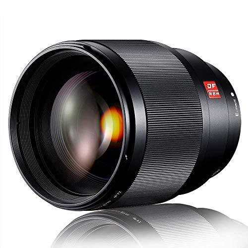Viltrox 85mm F1.8 Obiettivo per Sony E-Mount, Full-Frame Teleobiettivo Medio Ritratto per Sony A9 A7R3 A7R2 A7M3 A7M2 A7S2 A6500 A6300 A6000