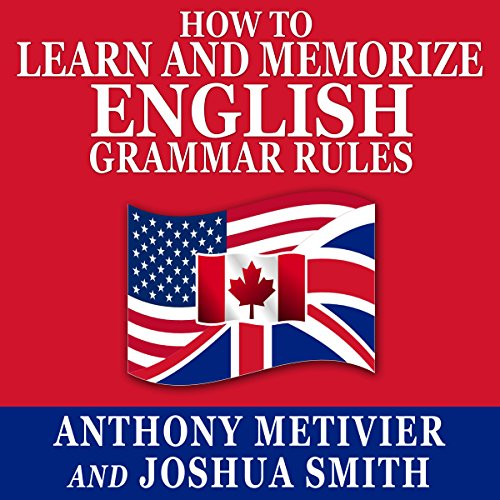 How to Learn and Memorize English Grammar Rules audiobook cover art