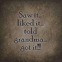 それはおばあちゃんが面白いノベルティ道路標識のビジネスサイン