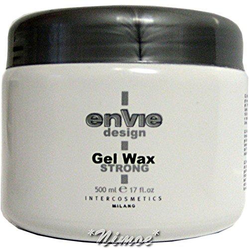 Envie Design Gel Wax Strong 500 ml Modelage Hold & Shine Effect Intercosmetics