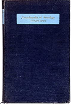 Encyclopedia of Astrology 0822603233 Book Cover