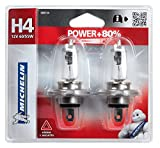 Michelin 008734 Power +80% 2 Ampoules H4 12 V 60 / 55W