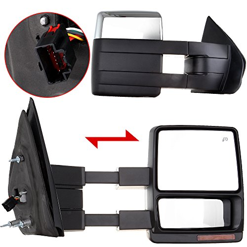 09 f150 tow mirrors - 3