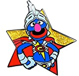 Star Series: Super Grover Collectible Pin