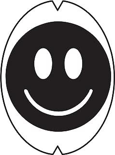 Racquet Art Creative Tennis Racquet Stencil - Smiley Face