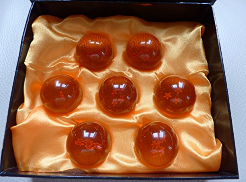 Dragon Ball Z Crystal Ball Set 7 Kugeln 4,3cm Durchmesser Anime Dragonball sofort Lieferbar C50022