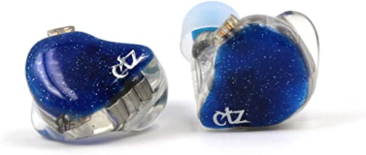 CTZ 12BA Balanced Armatures in-Ear Headphones HiFi IEM with Detachable 0.78mm 2 Pin Cable for Audiophile Musician