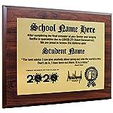Plaquemaker Personalized 2020 Funny TP Diploma Plaque - Graduating During Quarantine