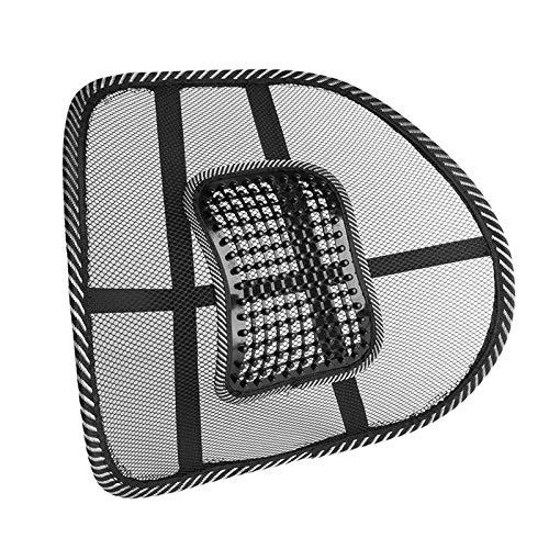 MINGTIAN 1/5/10 piezas cojín de ventilación fresco de malla para respaldo lumbar para coche, oficina, hogar, silla