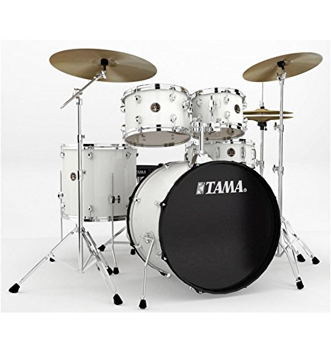 Tama Rhythm mate rm52kh6C-wh White–Batería acústica 5Fûts (+ platillos y accesorios)
