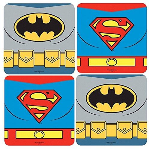 DC Comics - Untersetzer 4er Set - Batman Vs Superman - Dawn of Justice