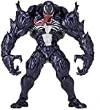 Venom Figura de acción Venom Eddie Brock Series Toys No.003 Freeform PVC Collectible Toy Modelo Hech...