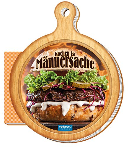 "Kochbuch für Männer ""Kochen ist Männersache"": Kochrezepte einfach, schnell und lecker (Geschenk-Kochbuch)"