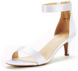 Best white 2 inch heel sandals Reviews