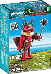 Features Snotlout, fully equipped with a flight suit Based on DreamWorks How to Train your Dragon 3 Comes with a club Encourages learning through interactive play