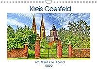 Kreis Coesfeld im Muensterland - Stadt Land Fluss (Wandkalender 2022 DIN A4 quer): Willkommen im Kreis Coesfeld, im malerischen Muensterland. (Monatskalender, 14 Seiten )