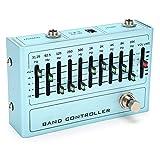 EQ De 10 Bandas Ecualizador De Sonido EQ Pedal De Efectos De Guitarra Para Guitarra Y Bajo DC 9V 30mA EQ Pedal Ecualizador 31.25Hz-16KHz