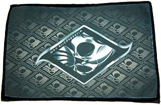 Exalt Wicked Sports Microfiber Goggle Cloth - Player Size - Gray Skull