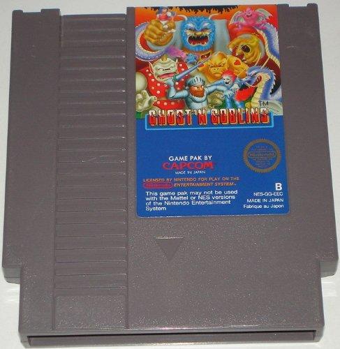 Ghost'n Goblins (Nintendo NES) lose