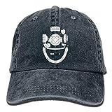 remmber me Tauchhelm Taucher Klassische Baseballmützen Unisex Adult Cowboy Hat Cotton