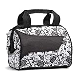 Fit & Fresh Insulated Lunch Bag, Downtown Ebony Floral