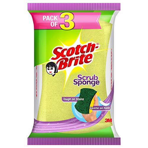 Scotch-BriteScotchBriteScrubSpongeLarge-Packof3