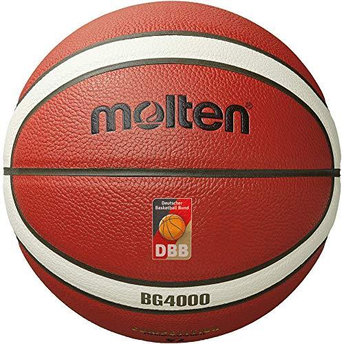 Molten B7G4000-Dbb Pallone Da Basket, Colore: Arancione/Avorio 7
