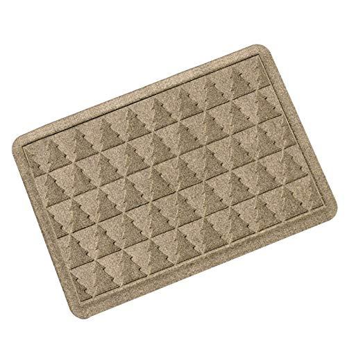 OPLJ Bodenmatte Eingangsmatte rutschfeste Eingang Fußmatte Badezimmer Eingang Teppich Fußmatte Schuhmatte Home Waschbare Türmatte A2 40x60cm