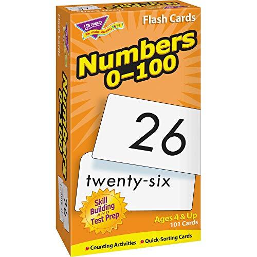 トレンド 英単語 フラッシュカード 0から100までの数 Trend Flash Cards Numbers 0-100 T-53107